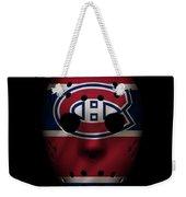 Canadiens Jersey Mask Weekender Tote Bag