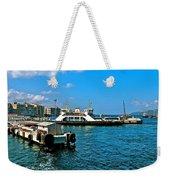 Canakkale Ferry Dock-turkey Weekender Tote Bag