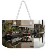 Canal And Chimneys Weekender Tote Bag by Jeremy Hayden