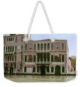Canal Architecture Weekender Tote Bag