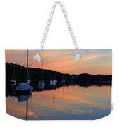 Canal Calm Weekender Tote Bag
