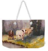 Canal Cows Weekender Tote Bag