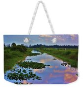 Canal In The Glades Weekender Tote Bag