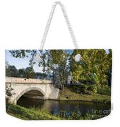 Canal Near Freedom Monument Riga Weekender Tote Bag