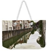 Canal Reflection  Weekender Tote Bag