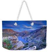 Canales Lake Weekender Tote Bag
