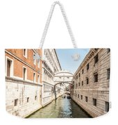 Canals Of Venice Weekender Tote Bag