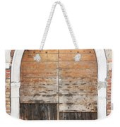 Canalside Weathered Door Venice Italy Weekender Tote Bag