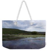 Canandaigua Lake Panorama Weekender Tote Bag