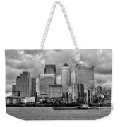 Canary Wharf Weekender Tote Bag