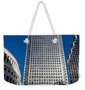 Canary Wharf Tower London Weekender Tote Bag