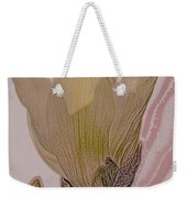 Canary Yellow Magnolia Weekender Tote Bag