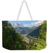Canazei - Val Di Fassa Weekender Tote Bag