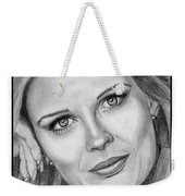 Candace Bergen In 1976 Weekender Tote Bag by J McCombie