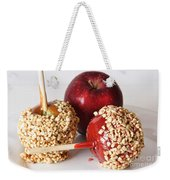 Candied Caramel And Regular Red Apple Weekender Tote Bag