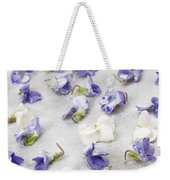 Candied Violets Weekender Tote Bag