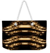 Candle Abstract 4 Weekender Tote Bag
