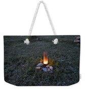 Candle Glow Weekender Tote Bag
