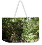Candle Of Rock Weekender Tote Bag