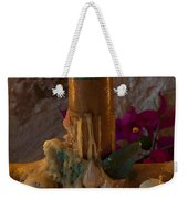 Candle On Day Of Dead Altar Weekender Tote Bag