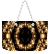 Candles Abstract 6 Weekender Tote Bag
