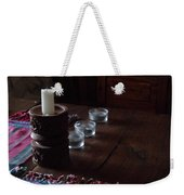 Candles In The Morning Weekender Tote Bag