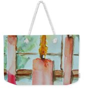 Candles In The Wind-ow Weekender Tote Bag