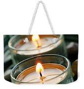 Candles On Green Weekender Tote Bag