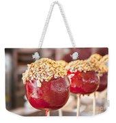 Candy Coated Apple Weekender Tote Bag