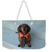 Candy Corn Tie Weekender Tote Bag