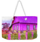 Candy Cottage - Featured In Comfortable Art Group Weekender Tote Bag