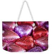 Candy Hearts Weekender Tote Bag