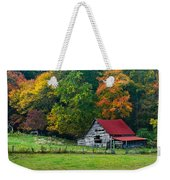 Candy Mountain Weekender Tote Bag by Debra and Dave Vanderlaan