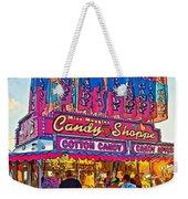 Candy Shoppe Line Art Weekender Tote Bag