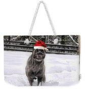Cane Corso Christmas Weekender Tote Bag