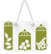 Canisters In Avocado Weekender Tote Bag