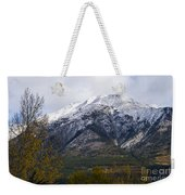 Canmore Rocky Mountain View  Weekender Tote Bag