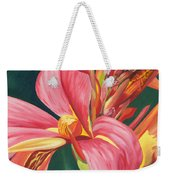 Canna Lily 2 Weekender Tote Bag