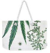Cannabis Weekender Tote Bag