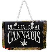 Cannabis Marijuana Store In Ridgway Weekender Tote Bag