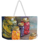 Canning Jars Weekender Tote Bag