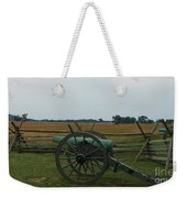 Cannon At Gettysburg Weekender Tote Bag