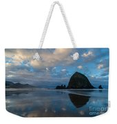 Cannon Beach Calm Morning Tidal Flats Weekender Tote Bag