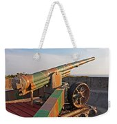 Cannon In Fortress Weekender Tote Bag