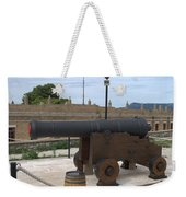 cannon of the old fort Corfu Weekender Tote Bag
