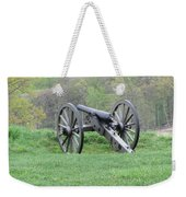 Cannon On Culp's Hill Weekender Tote Bag