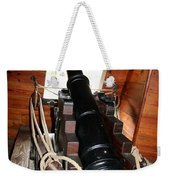 Cannon On Sailship Weekender Tote Bag