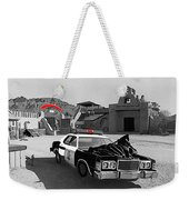 Cannonball Run 2  Brothel Set   Mexican Plaza Old Tucson Arizona 1984 Weekender Tote Bag