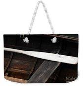 Canoe And Oar Weekender Tote Bag