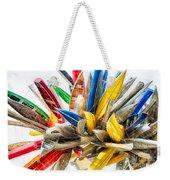 Canoe Art II Weekender Tote Bag